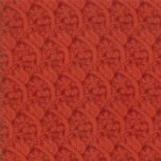 Moda - Voysey by The V&A - 6681 - Acton Reproduction, Squirrels in Red  - 7326 16 - Cotton Fabric